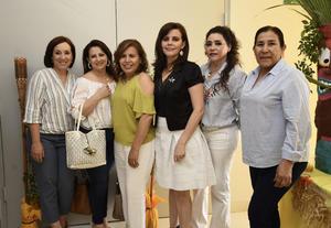 06062019 Malena, Sandra, Rosy, Elena, Carmen e Irma.