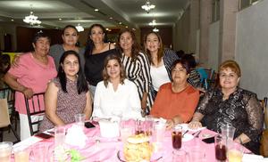 06062019 Araceli, Rosario, María del Refugio, Rayo, Paty, Anabel, Emilia, Laura y Cynthia.