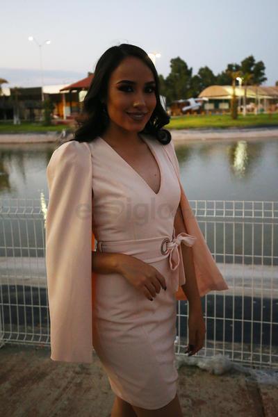 Ángela Monárrez, Santa María del Oro.