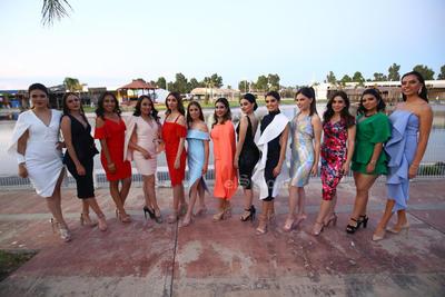Candidatas a reina de la FENADU 2019