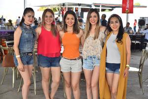 07062019 Azalea, Karla, Perla, Paola y Maggie.