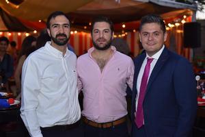 Sergio, Enrique y Héctor