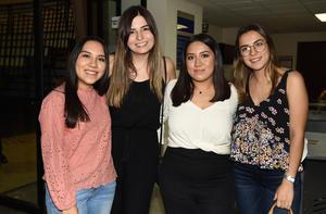 Carolina Ávila, Sofía Vázquez, Lily Rodríguez y Karen González
