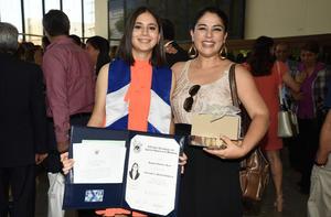 Daniela Gutiérrez y Jocelyn Pérez