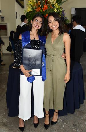 Frida Fabiola Solís y Pamela Hernández