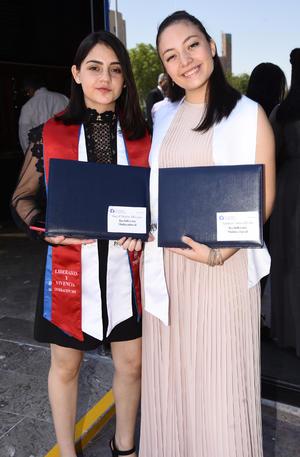 Ingrid Macías y Arantza Torres