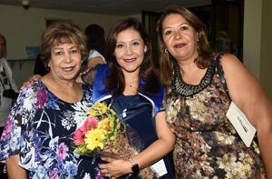 Lidia García, Lety y Lilia Rabiela