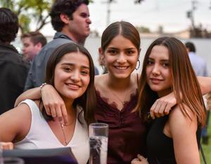 Diana, Sofía y Frida