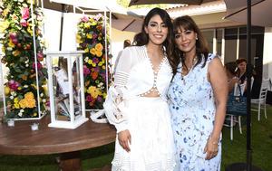 Krissya con su mamá, Jaqueline Ávalos de Murra