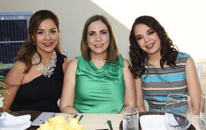 Rocío, Claudia y Cecilia