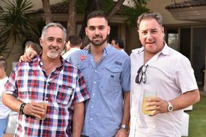 Adelaido, Edelmiro y Fernando