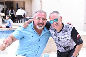 Jaime Aguilera y Javier González