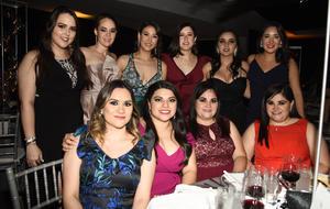 Laura, Gaby, Cristy, Lety, Liz, Denisse, Mariana, Luisa, Laurita y Cecy