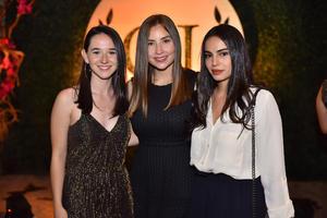 Cristina, Andrea y Marcela