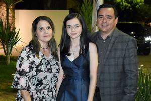 Laura, Arantza y Raúl