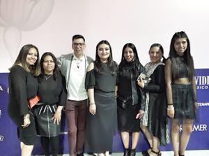 08062019 Diseñadoras del Colectivo 10 de 10 y el artista en joyería, Pineda Damián.