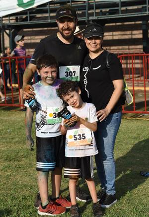 08062019 CARRERA ATLéTICA.  Familia Valdés Navarro.