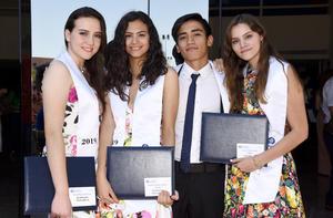 Sofía, Melina, Paco y Lara