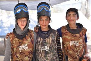 Diego, Enrique y Sebastián
