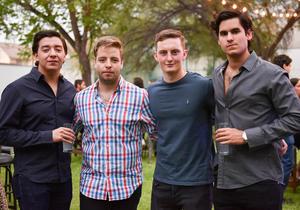 Erick, Fernando, Fernando y Diego