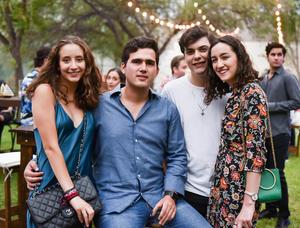 Fernanda, Héctor, Héctor y Rocío