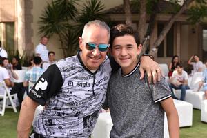 Javier y Javier Jr