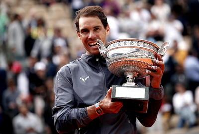 Conquistó su duodécimo título de Roland Garros.