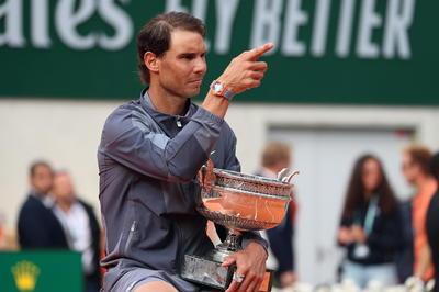 Se convirtió en el jugador que más veces ha repetido triunfo en un mismo Grand Slam.