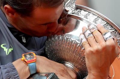 Recién cumplidos los 33 años, Nadal suma ya 18 títulos de Grand Slam.