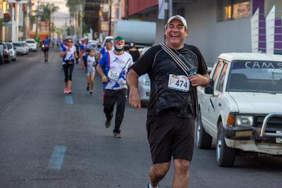 La tradicional carrera de Libertad de Expresión cuenta con la categoría de Prensa, en donde los periodistas demuestran que tienen buena condición física. El Siglo de Durango estuvo presente.