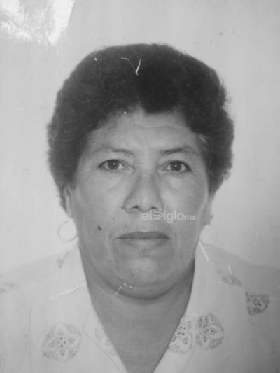 María del Carmen Zúñiga Herrera, cumpliendo 86 años. Nació en junio de 1933