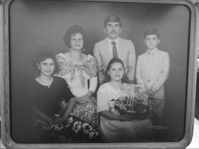 Familia Ochoa Ruelas. 29 de junio de 1989.