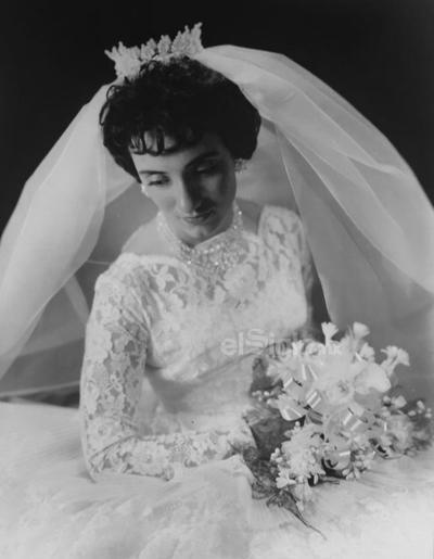 Sra. Lupita Salazar. 1961.
