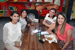 11062019 Ana Luisa, Olivia, Melissa y Michelle.