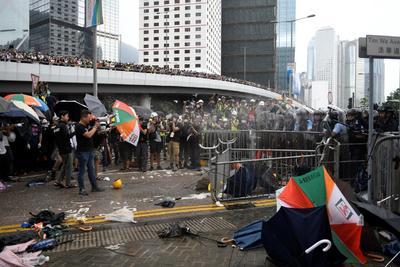 Siguen las protestas en Hong Kong.