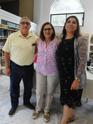 12062019 Álvaro Meraz Olivas, Patricia Taboada Reyes y Blanca Domínguez.