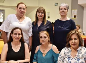 12062019 Lili, Tere, María Elena, Blanca, Alma Rosa y María Elena.