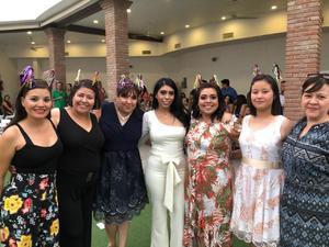12062019 ENTRE AMIGAS.  Claudia, Alejandra, Tania, Andrea, Nubia, Cristy y Lily.