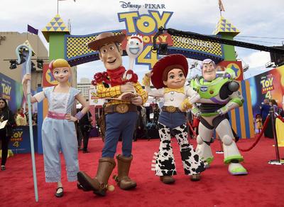 Estreno de Toy Story 4 realiza su primera alfombra roja