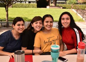 13062019 Sofía Garza, Greta Olvera, Thalia Montes y Paula Gutiérrez.