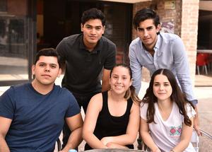 13062019 María, Samir, Vicente, Sofía y Ana Carmen.