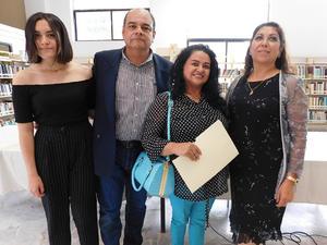 13062019 Paola Ortega B., Mario Alán Ortega Molina, Yadira Ortega Molina y Blanca Domínguez.
