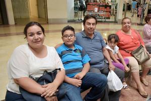 13062019 Claudia, Santiago, David, Rebeca y Guadalupe.