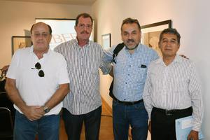 14062019 Rafael, Adolfo, Jaime y Luy.