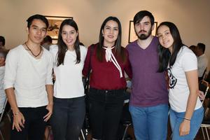 14062019 Jonathan, Gaby, Julia, Pablo y Frida.