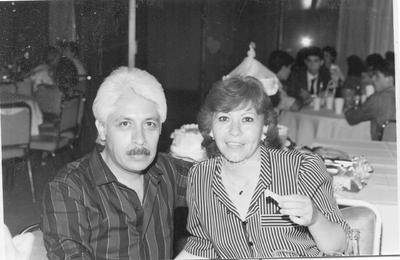 Daniel y Lita en un evento en 1988.