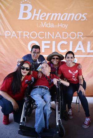 17062019 Viviana, Sergio, Toño, Pecky y Pamela.