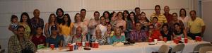 16062019 CELEBRACIóN.  La familia de Olga Amozurrutia Olvera se reunió para celebrar su cumpleaños número 88.