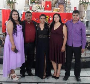 16062019 EN RECIENTE CELEBRACIóN.  Familia Canales Ponce.