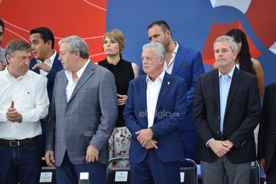 El evento estuvo encabezado por el gobernador Miguel Riquelme, se tuvo también la asistencia y participación del alcalde Jorge Zermeño.